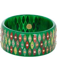 Mark Davis | Multicolor Multi Gemstone & Bakelite lorelei Bangle | Lyst