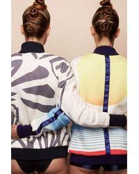 Amishboyish | Multicolor Hawish Sun Cotton Bomber Jacket | Lyst