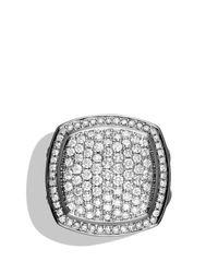 David Yurman | Metallic Albion Ring With Diamonds | Lyst