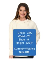 Roxy | Natural Great Vibes Hoodie | Lyst
