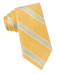 Ted Baker | Yellow Seashore Striped Tie for Men | Lyst