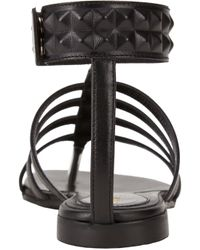 Fendi - Black Diana Studded Gladiator Sandals - Lyst