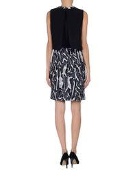 Proenza Schouler - Black Short Dress - Lyst