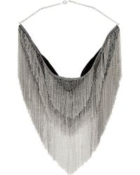 Isabel Marant | Metallic Plastron Necklace | Lyst