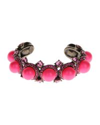 Lanvin | Pink Bracelet | Lyst