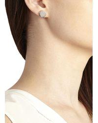 Marc By Marc Jacobs | Metallic Silver Tone Bolt Stud Earrings | Lyst