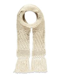 Forever 21 | Natural Chunky Ribbed Scarf | Lyst