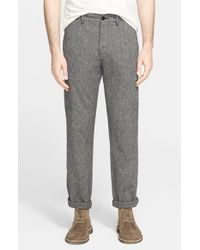 Norse Projects - Gray 'laurits' Cotton & Linen Cargo Pants for Men - Lyst