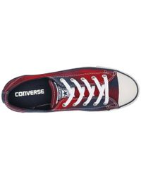Converse - Multicolor Chuck Taylor® All Star® Dainty Plaid Ox - Lyst