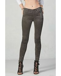 True Religion | Gray Joan Smalls Womens Legging | Lyst