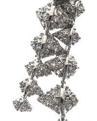 Eddie Borgo - Metallic Zipedge Crystal Pavé Ear Cuff - Lyst