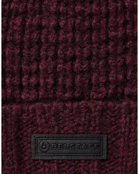 Belstaff | Red Ardleigh Hat for Men | Lyst
