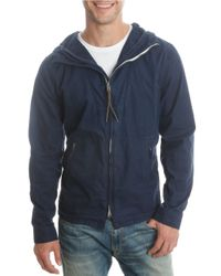 Lucky Brand   Blue Hooded Zip-up Jacket for Men   Lyst