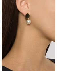 Chloé | White Chloé Darcey Earrings | Lyst