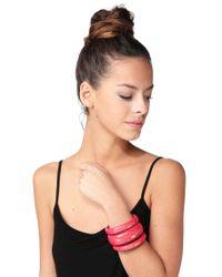See By Chloé | Pink Bracelet | Lyst