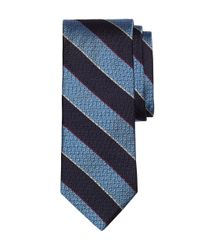 Brooks Brothers | Blue Textured Stripe Tie for Men | Lyst