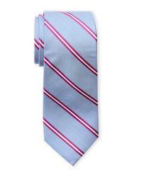 Ben Sherman | Blue Brave Stripe Silk Tie for Men | Lyst