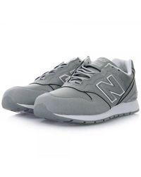 New Balance | Metallic 996c Reflective Silver Shoe for Men | Lyst