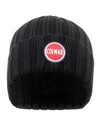 Colmar - Colmar Ribbed Black Pull On Beanie 5096 8Lo 99 for Men - Lyst