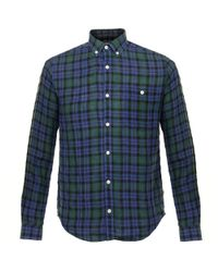 Barbour | William Blue Highland Check Shirt 3635 for Men | Lyst