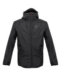 Nike | Tech Hypermesh Windrunner Black Jacket for Men | Lyst