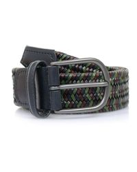 Andersons | Multicolor Anderson Belts Anderson'S Woven Multi Braided Leather Belt Af2817 for Men | Lyst