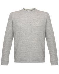 Naked & Famous | Gray Naked And Famous Vintage Double Face Grey Sweatshirt for Men | Lyst