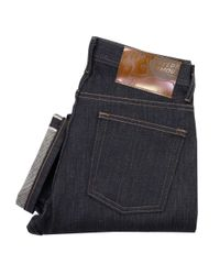 Naked & Famous   Blue Naked And Famous Weird Guy Kaiju Monster Indigo Selvedge Jeans for Men   Lyst