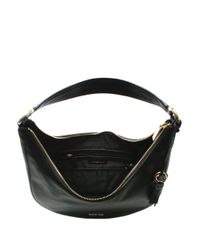 Michael Kors - Lydia Large Black Tumbled Leather Hobo Bag - Lyst