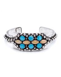 DANNIJO - Metallic Gigi Silver-Plated Bracelet - Lyst
