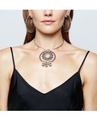 DANNIJO - Metallic Corona Necklace - Lyst