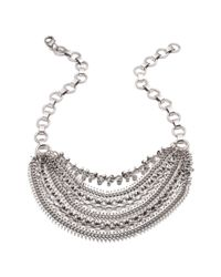 DANNIJO | Metallic Ursula Crystal Statement Necklace | Lyst