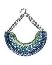 DANNIJO | Bea Blue Necklace | Lyst