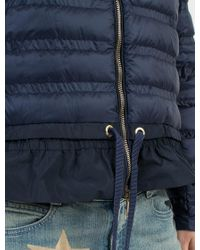 "Moncler - Blue ""anemone"" Down Jacket for Men - Lyst"