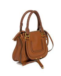 "Chloé - Brown Small ""marcie"" Handbag - Lyst"