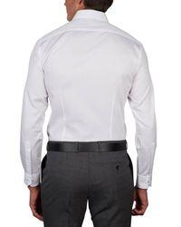 Geoffrey Beene - White Algonquin Pique Body Fit Shirt for Men - Lyst