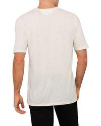 Helmut Lang - Multicolor Sq Logo Ss T Shirt for Men - Lyst