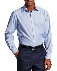 Thomas Pink   Blue Trv Sf Bawden Stripe Bc for Men   Lyst