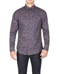 Ben Sherman | Multicolor Ls Multicoloured Paisley for Men | Lyst