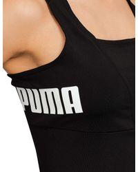 PUMA | Black Archive Logo Jumpsuit | Lyst