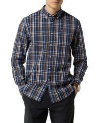Tommy Hilfiger - Blue Ronan Check Shirt for Men - Lyst