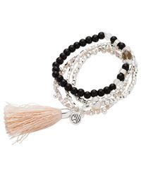 Samantha Wills - Metallic Nightfall Lustre Bracelet Set - Lyst