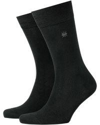 Smythson - Black Everyday 2 Pack Socks for Men - Lyst