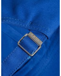 Gant - Blue Contrast Twill Cap for Men - Lyst