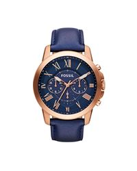 Fossil - Multicolor Grant Watch for Men - Lyst