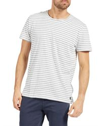 The Academy Brand - White Pike Tee for Men - Lyst