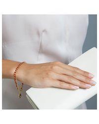 Astley Clarke - Red Agate Hamsa Small Biography Bracelet - Lyst