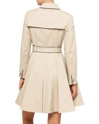 Ted Baker - Brown Gilliy Piping Detail Mac (trench) - Lyst