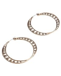 Samantha Wills Metallic From The Earth Hoop Earrings