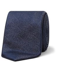 Canali | Blue Hj00503 Silk Tie for Men | Lyst
